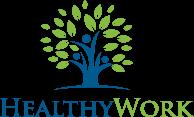 HEALTHYWORK Sticky Logo