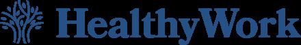 HEALTHYWORK Retina Logo